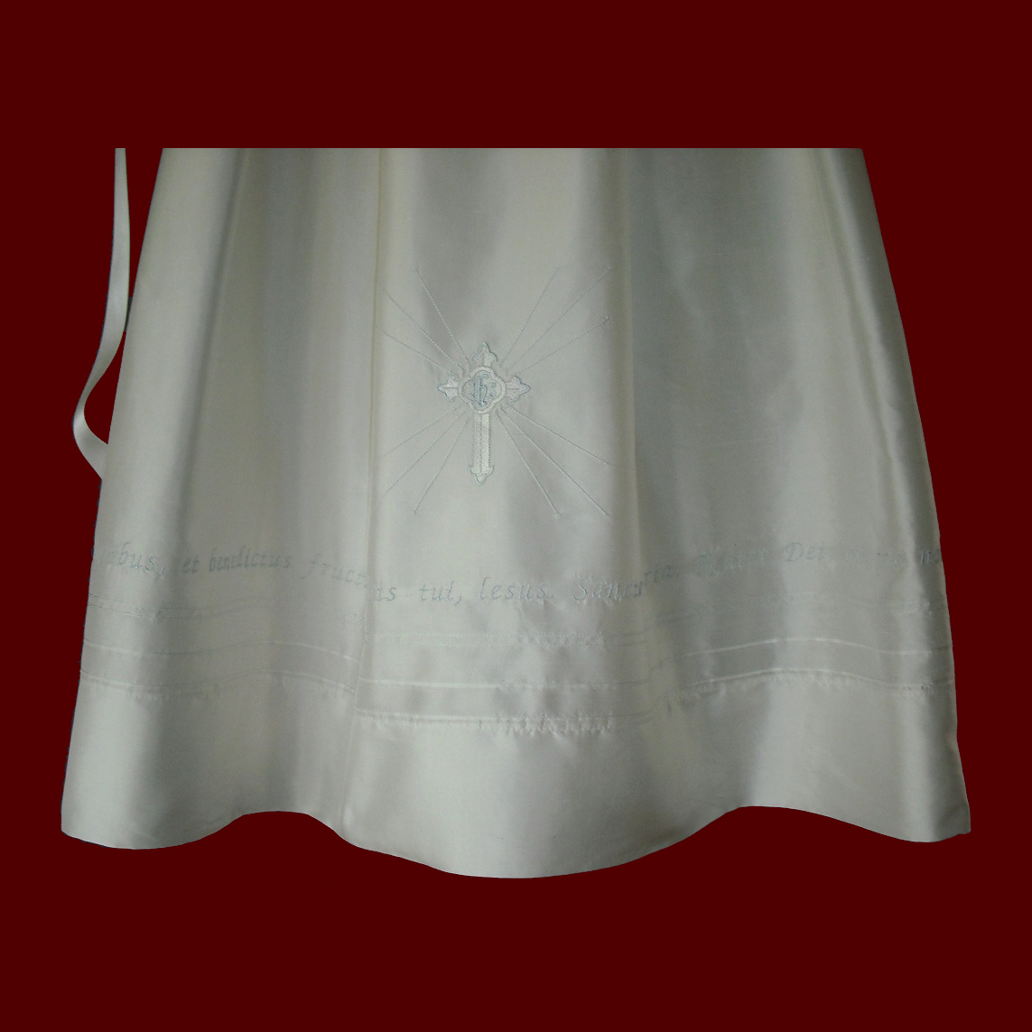 c454a549a The Hail Mary Prayer Christening Gown For Boys