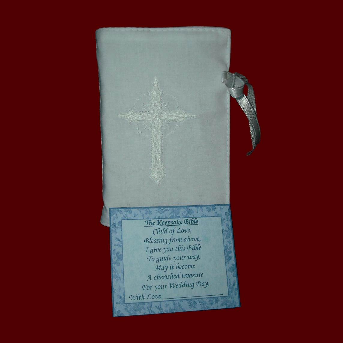 Made in USA Keepsake Bible