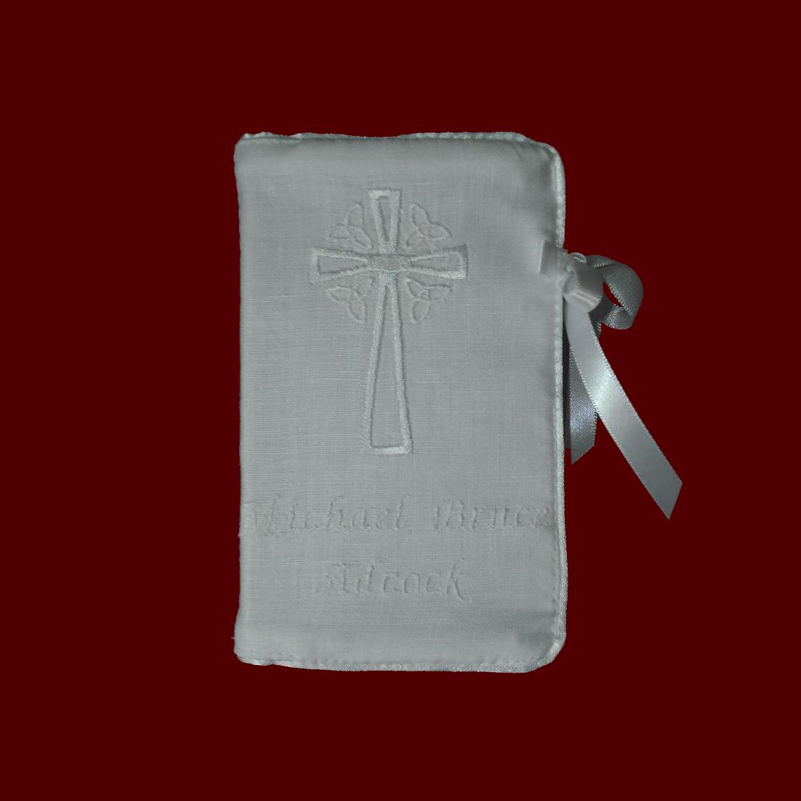 Keepsake Irish Linen Bible Irish Bibles Smocked Treasures