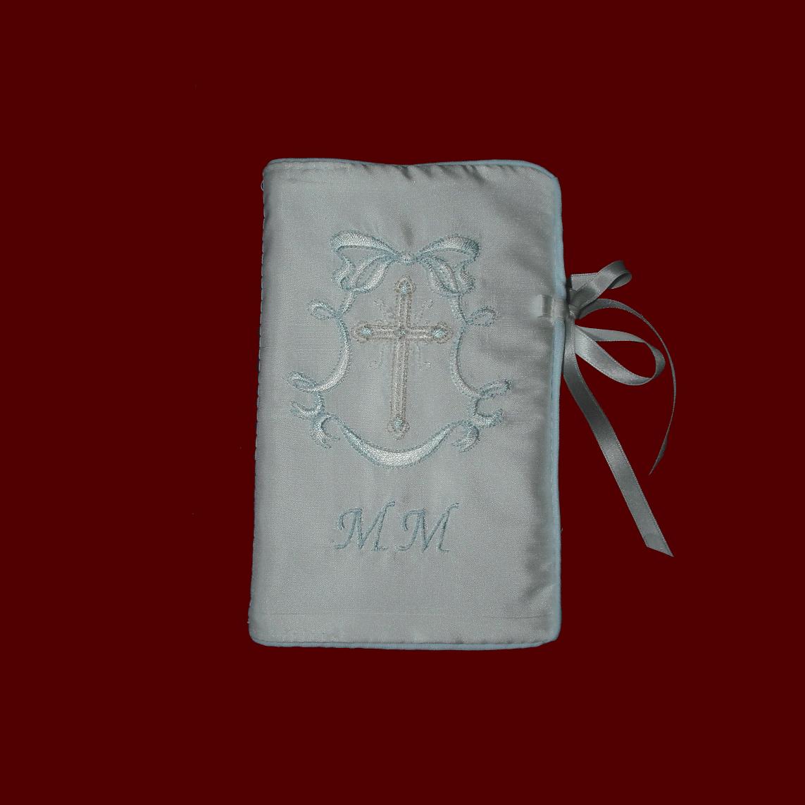 keepsake irish linen bible - christening bibles