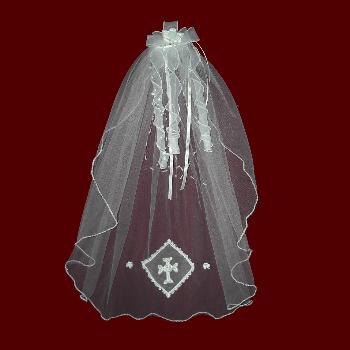 Design Your Own Communion Veil