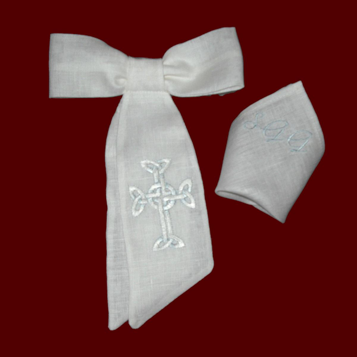 boys communion armband  u0026 pocket square set - boy communion accessories