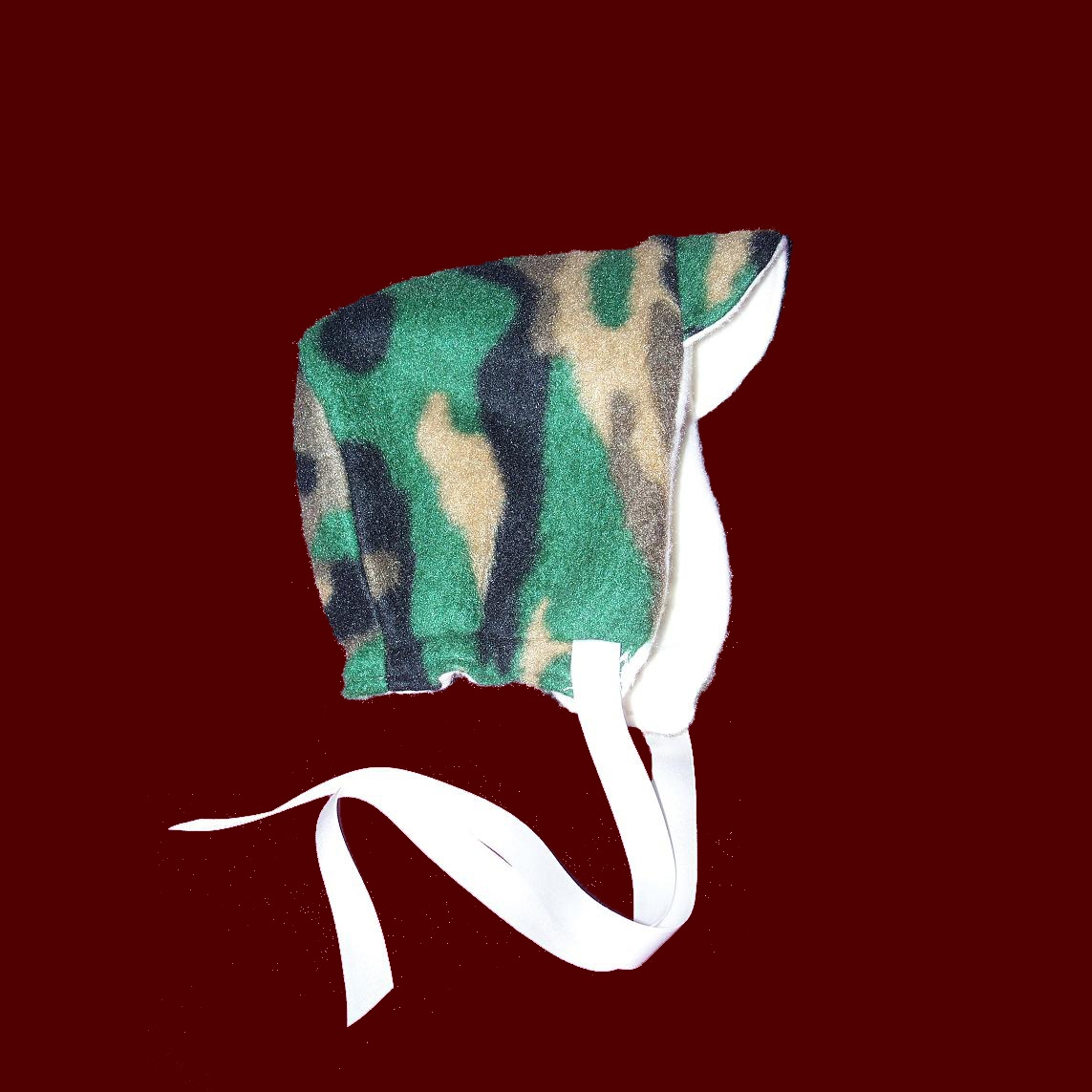 Camouflage Reversible Fleece Hat