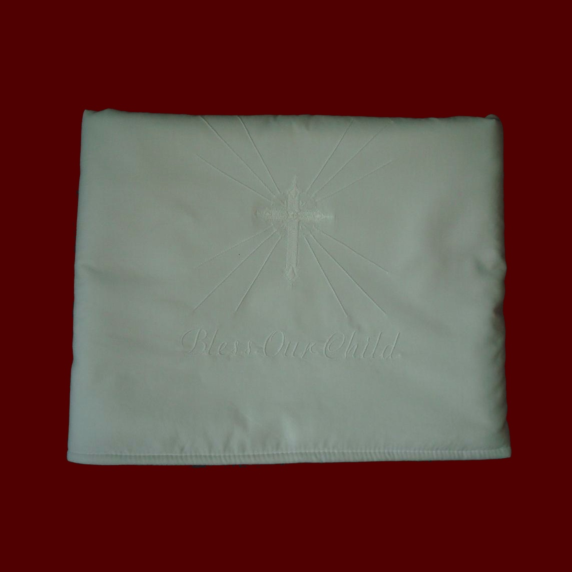Made in USA Personalized Christening Blanket