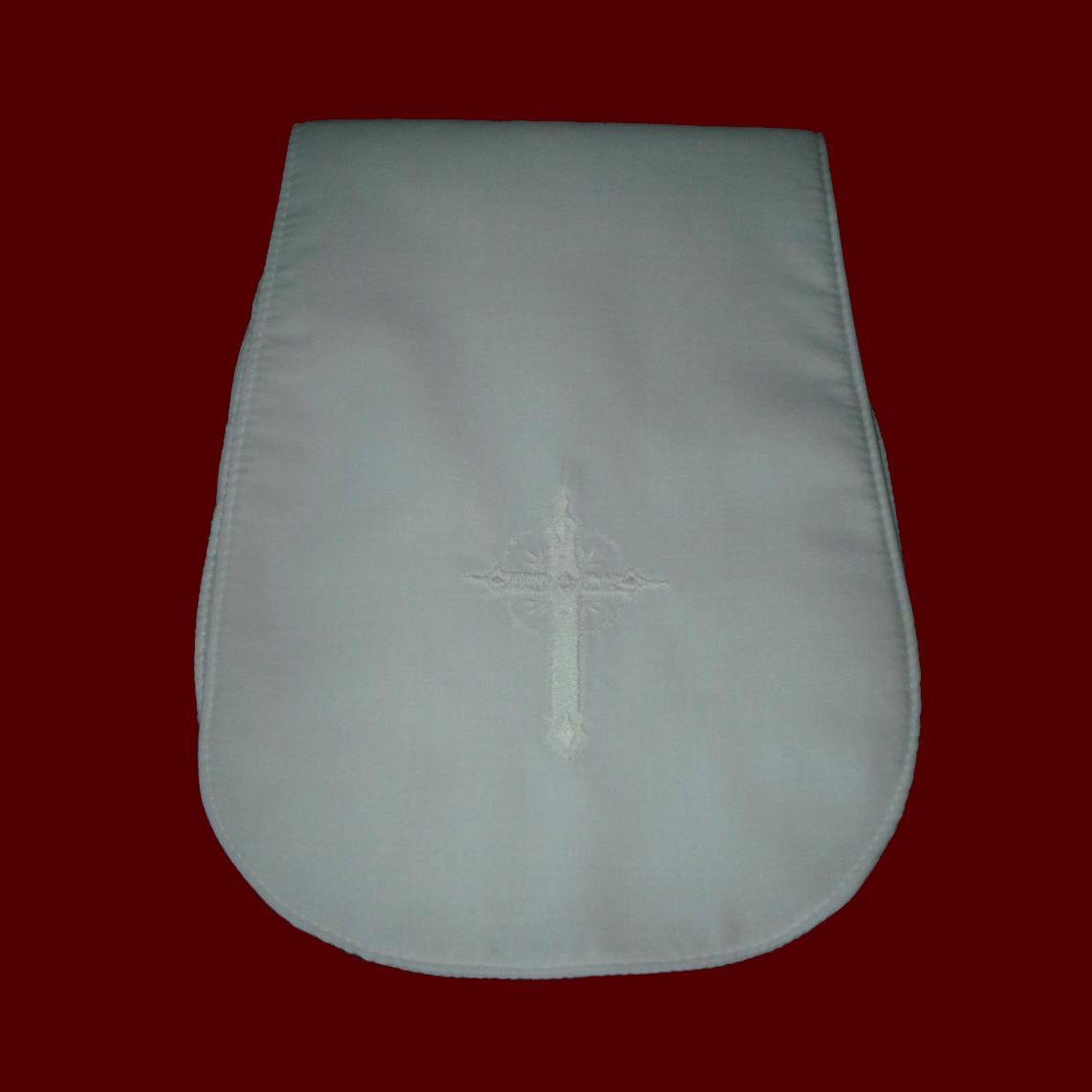 Made in USA Christening Burp Pad