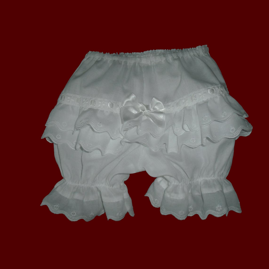 Made in USA Girls Ruffled Rhumba Panties