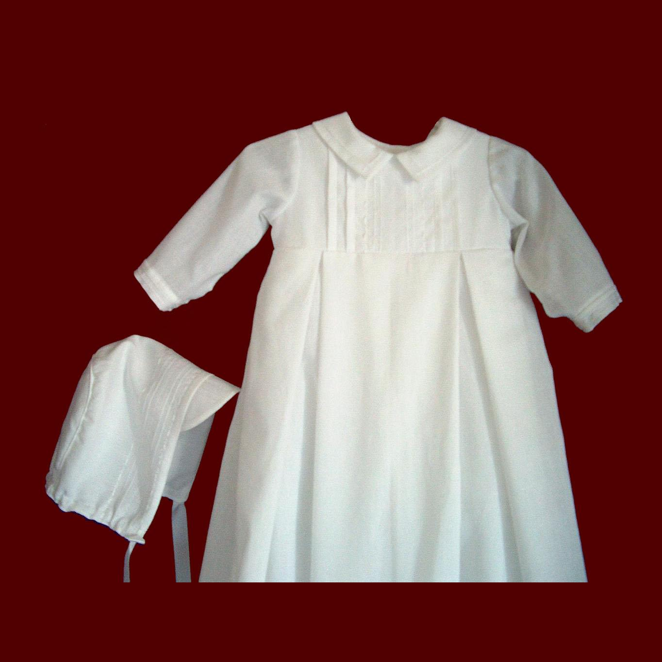 a974872cf4b7 Linen Batiste Boys Christening Gown - Boys Gowns   Detachable Gowns ...
