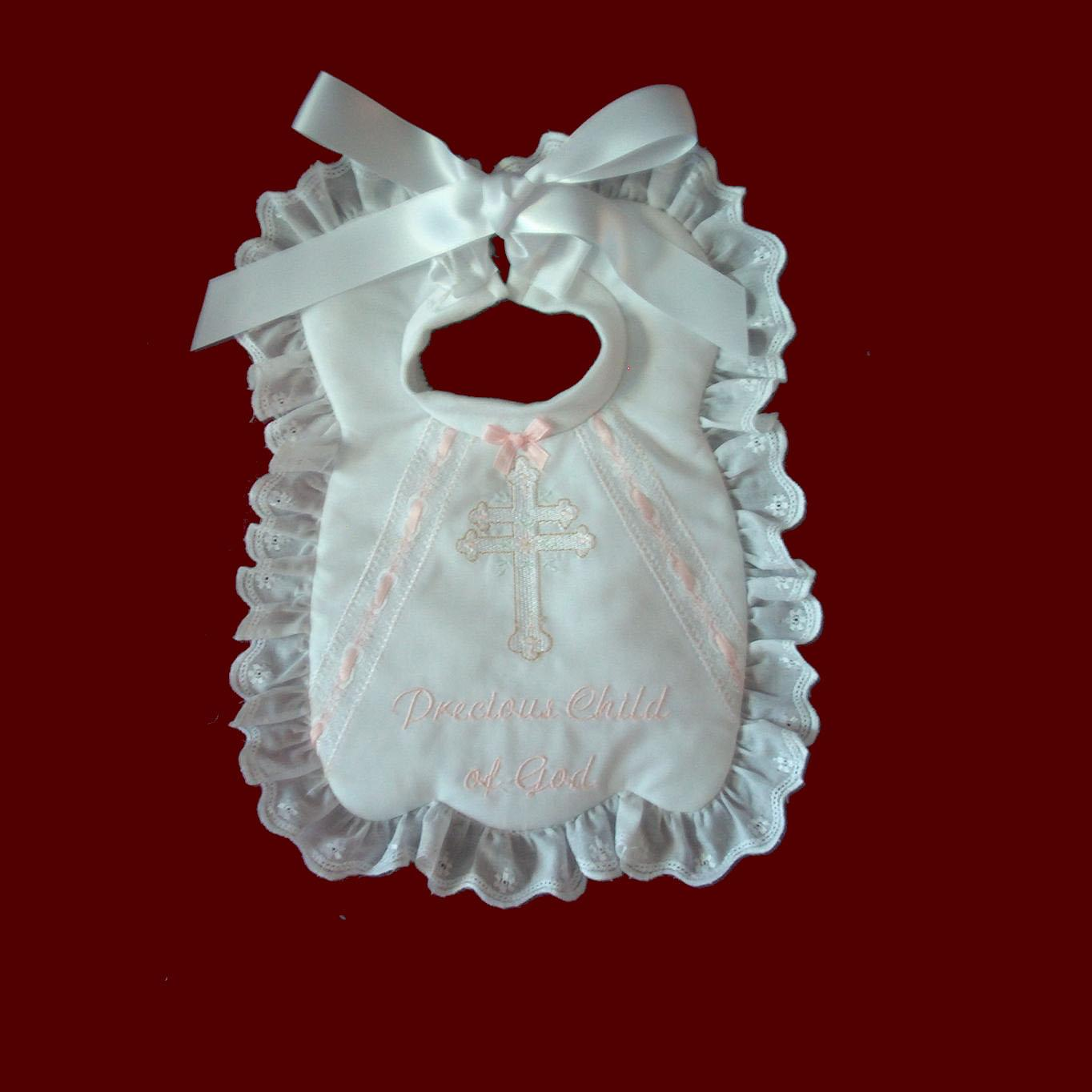 Precious Child of God Christening Bib