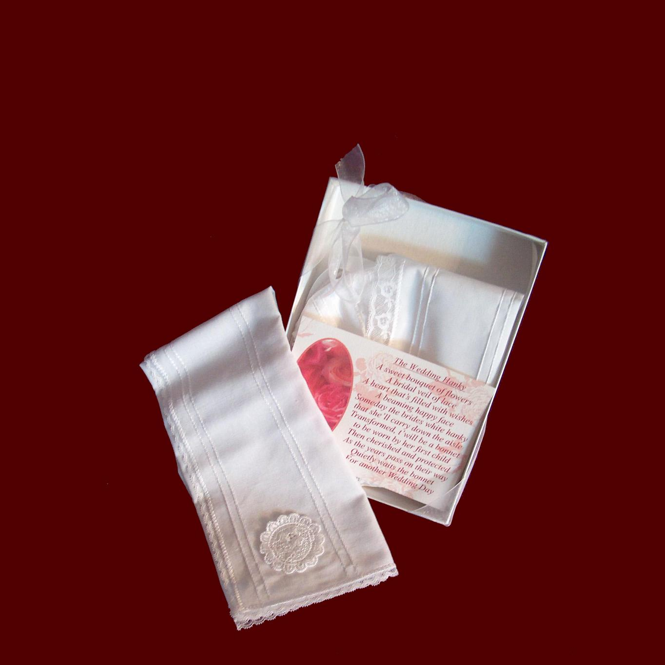 Wedding Hanky and Poem