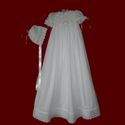 Click to Enlarge Picture - Hand Smocked Girls Christening Gown