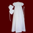Click to Enlarge Picture - Embroidered Cross Christening Gown