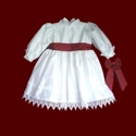 Click to Enlarge Picture - Christening Dress For Toddlers/Adoptions