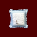 "Click to Enlarge Picture - ""What are Little Boys Made of?"" Pillow"