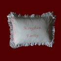 Click to Enlarge Picture - Keepsake Personalized Baby Pillow