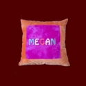 Click to Enlarge Picture - Personalized Minky Pillow - (Large)
