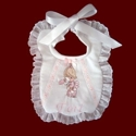 Click to Enlarge Picture - Precious Moments Girls Personalized Bib
