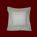 Click to Enlarge Picture - Muslin Keepsake Personalized Baby Pillow