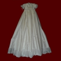 Click to Enlarge Picture - Smocked Treasures Signature Silk Christening Ensemble