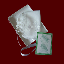 Click to Enlarge Picture - Irish Magic Hanky Bonnet