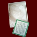 Click to Enlarge Picture - Irish Wedding Hanky & Poem