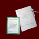 Click to Enlarge Picture - Irish Linen Keepsake Bible For Boys