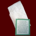 Click to Enlarge Picture - Silk Wedding Hanky With Shamrocks