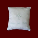 Click to Enlarge Picture - Bless Our Child Boys Christening Pillow