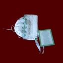 Click to Enlarge Picture - Irish Magic Hanky With Shamrock Lace