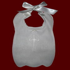 Click to Enlarge Picture - Personalized Irish Bib With Celtic Cross