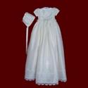 Silk Irish Girls Detachable Gown & Bib