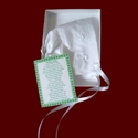 Click to Enlarge Picture - Irish Magic Hanky With Shamrock Appliques