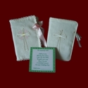 Click to Enlarge Picture - Keepsake Irish Linen Bible