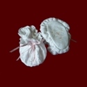 Click to Enlarge Picture - Trinity Roses Girls Christening Booties