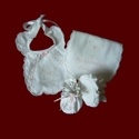 Click to Enlarge Picture - Trinity Roses Girls Christening Gift Set