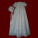 Shamrock Venice Lace Girls Christening Gown & Magic Hanky Bonnet