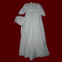 Click to Enlarge Picture - Embroidered Celtic Cross Christening Gown