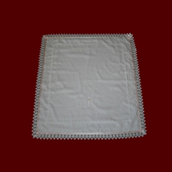 Click to Enlarge Picture - Irish Gaelic Christening Blessing Blanket for Girls