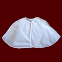 Click to Enlarge Picture - Minky Communion Capelet