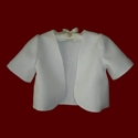 Click to Enlarge Picture - Communion Bolero Jacket