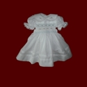 Click to Enlarge Picture - Hand Smocked Communion Doll Dress & Veil