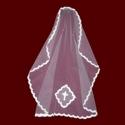 Mantilla Style Communion Veil