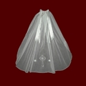 Click to Enlarge Picture - English Netting Communion Veil With Embroidered Cross & Silk Satin Hairbow