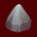 Click to Enlarge Picture - Pearl Trimmed Comb With Communion Veil