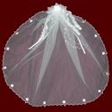 Irish Communion Veil With Hairbow & Optional Cross & Tiara