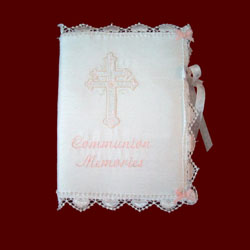 Click to Enlarge Picture - Communion Memories Photo Album