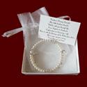 Pearl Wrap Rosary Bracelets With Swarovski Crystals