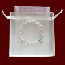 Swarovski Crystal Wrap Rosary Bracelet with Birthstone
