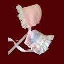 Reversible Polar Fleece Bonnet for Girls