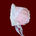 Click to Enlarge Picture - Girl Cordoruy Bonnet With Ruffle & Removable Liner