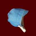 Denim Boy Hat With Optional Liner